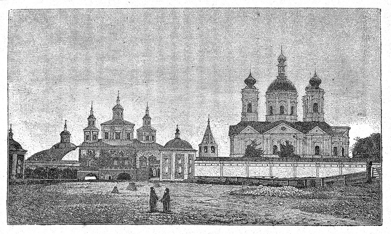 Брянский Свенский Монастырь. Гравюра