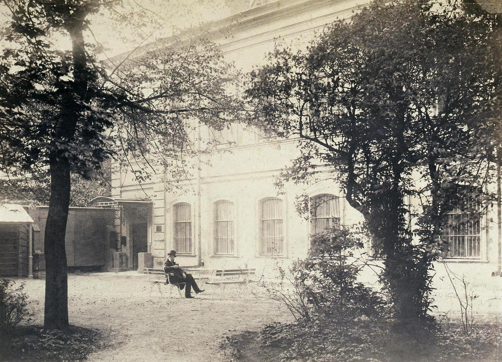 Склад Общества любителей древней письменности в Фонтанном доме. Фото И.Бианки, 1870-1880-е гг.