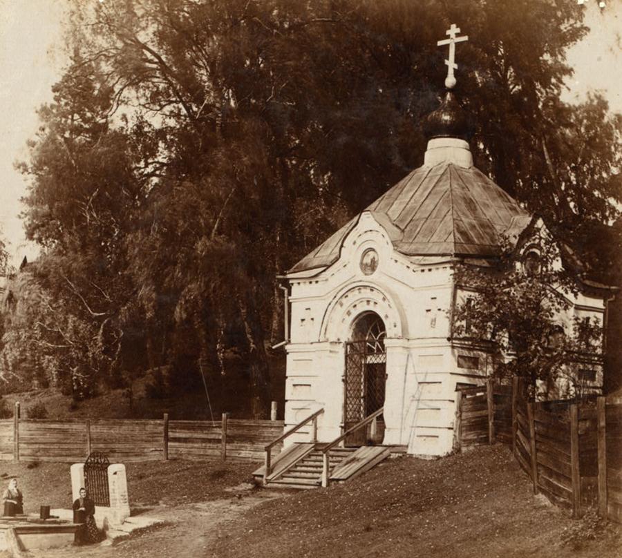 Часовня Преподобного Макария в Макарьевском Монастыре. Фото С. Прокудин-Горский. 1910 г.