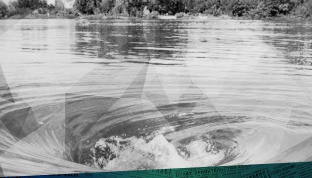 Весеннее наводнение сильно изменило фарватер реки Десны.