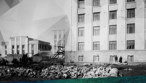 Гринберг А. Строительство правительственных зданий