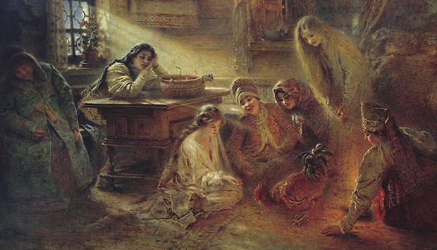 Святочные гадания в Брянске