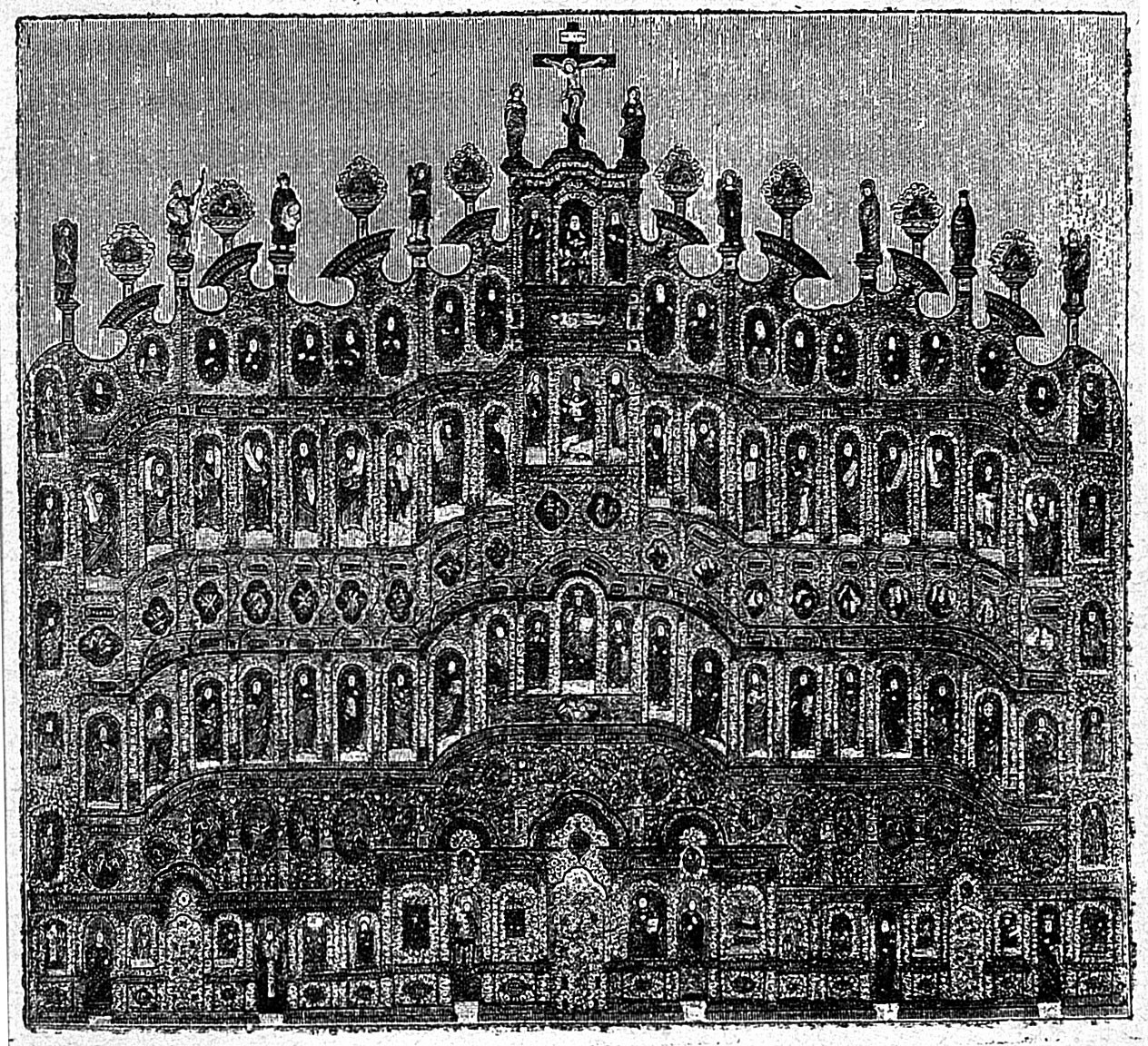 Иконостас Свенского Монастыря