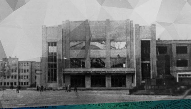 Проект восстановления дворца культуры