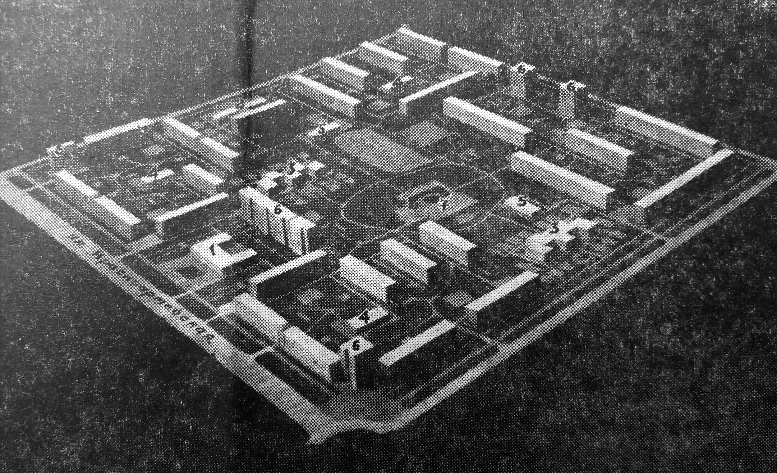 На снимке: макет второго микрорайона Брянска. Фото А. Александрова.