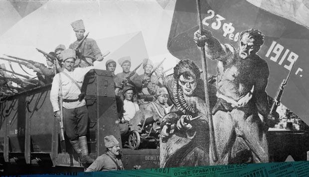 День Красной армии в Брянске