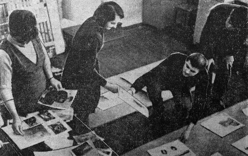 В школе №4 ребята оформляют музей А. М. Горького