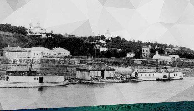 К открытию пароходного движения по реке Десне