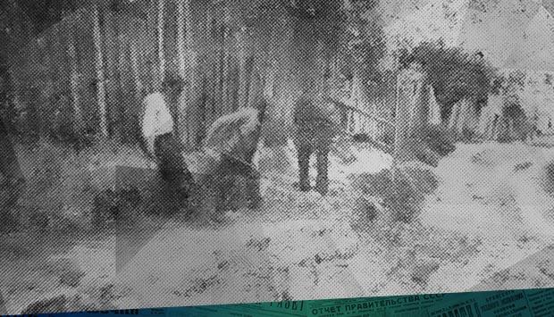 Раскопки в с. Супонево