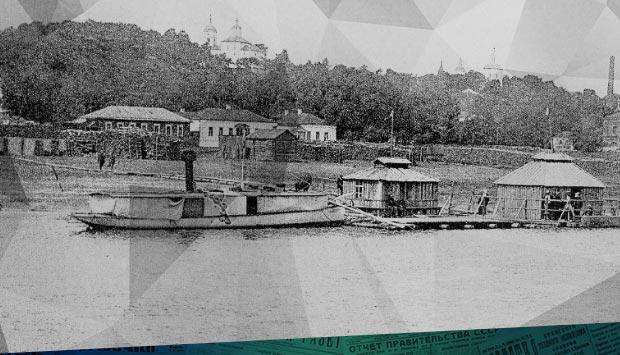 Брянские пароходы какой была ситуация с судоходством на Десне в Брянске 119 лет назад