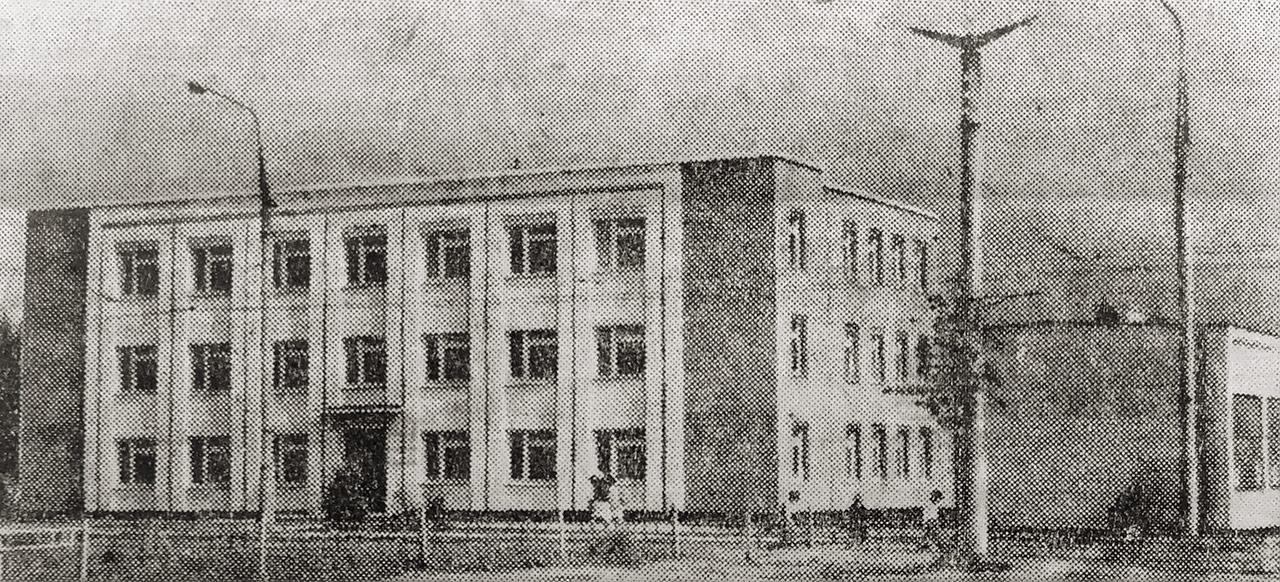 Здание Художественного фонда РСФСР на пр. Станке Димитрова в Брянске. Фото В. Шакалина