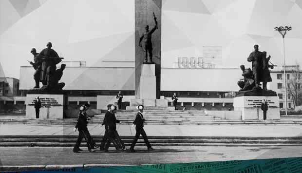На вахте памяти // Брянский рабочий. – 1979. – 18 сен. С. 4.: 17 сентября 1969 г. на Площади Партизан в Брянске был учреждён Пост №1
