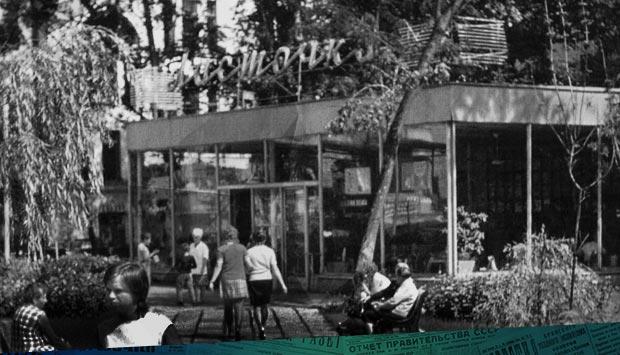 История невероятная, но истинная // Брянский рабочий. – 1964. – 20 ноя. (№272): о строительстве легендарного кафе «Ласточка» в нынешнем сквере им. Тютчева 55 лет тому назад