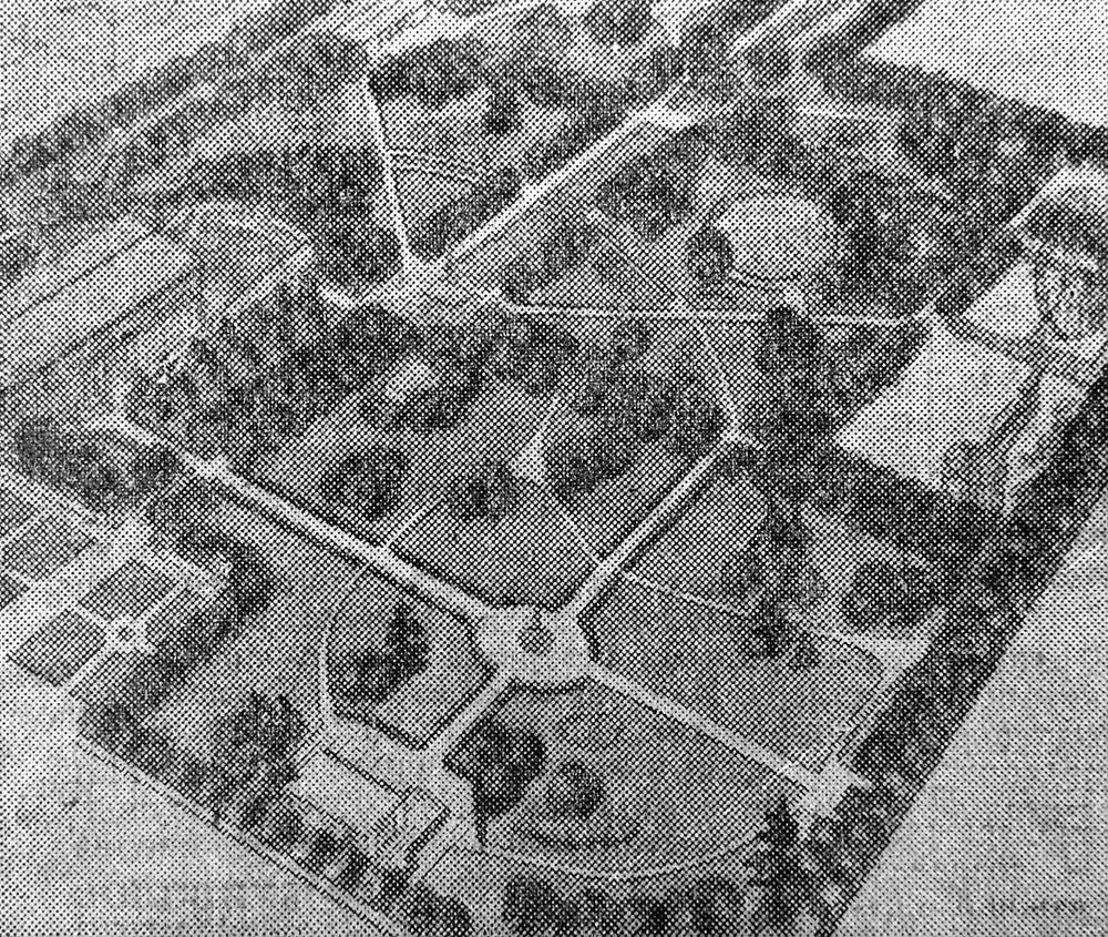 Один из снимков дает наглядное представление о том, как будет выглядеть парк после завершения реконструкции, которая ведется по проекту архитектора «Брянскгражданпроекта» К. Митиной.