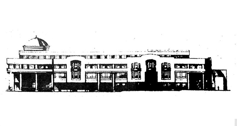 Проект Центрально-территориального сберегательного банка в Брянске. Середина 1990-х гг.